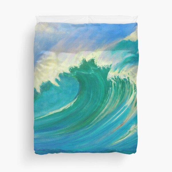 Wave Power Duvet Cover