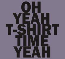 oh yeah t-shirt time yeah jersey shore