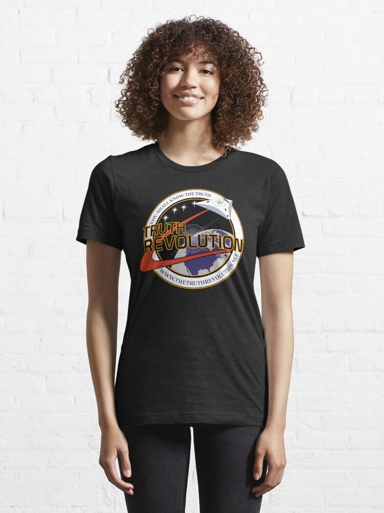 T-shirt essentiel ''Truth Revolution Space Mission Logo 3': autre vue