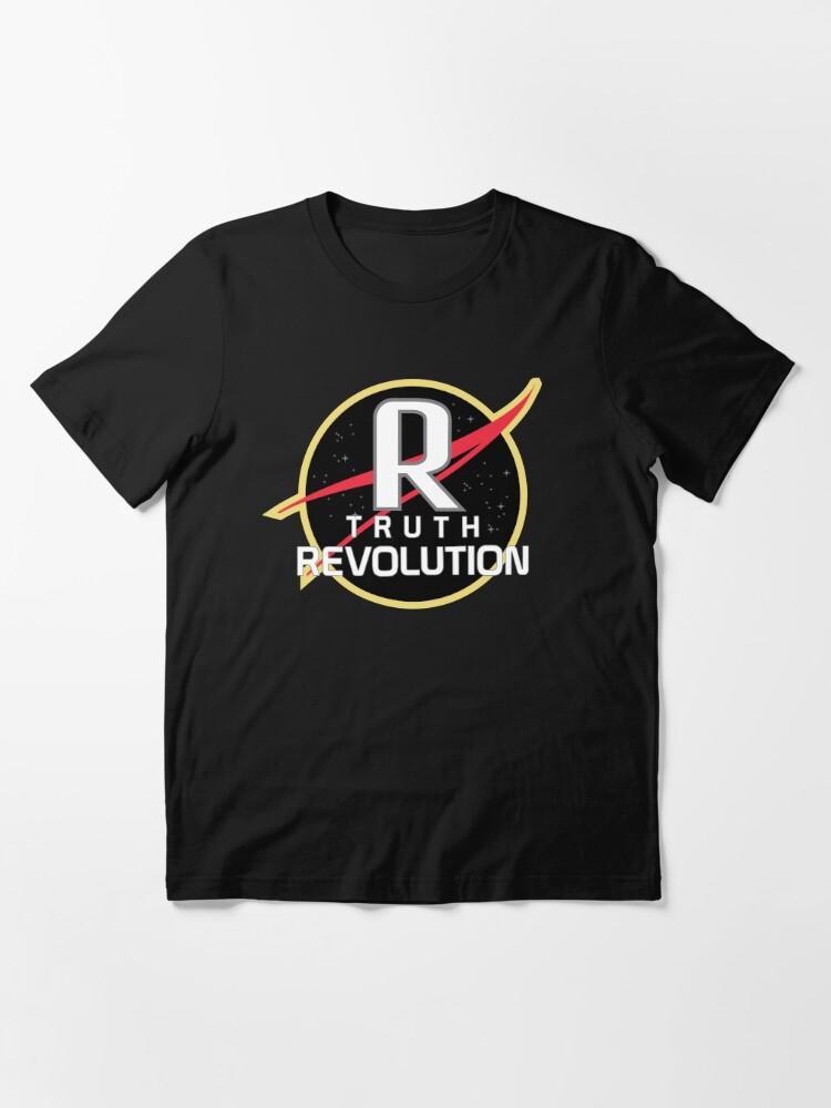 T-shirt essentiel ''Truth Revolution Space Agency Logo 2': autre vue