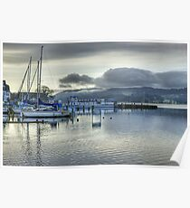 A Day In The Lakes....Windermere Poster