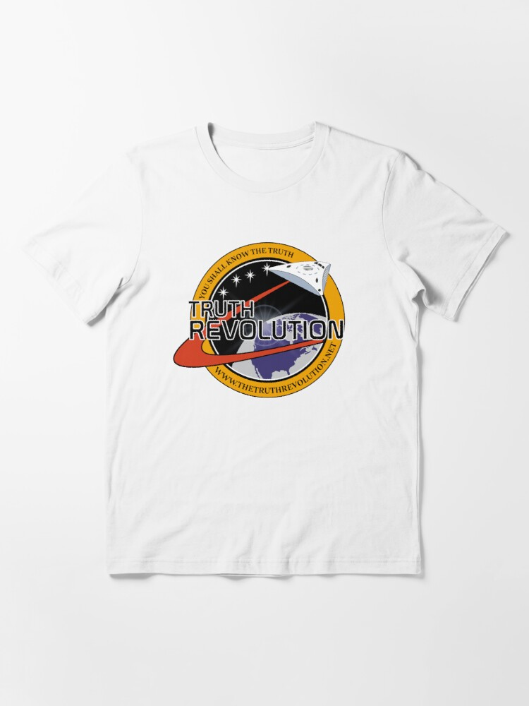 T-shirt essentiel ''Truth Revolution Space Mission Logo 2' : autre vue