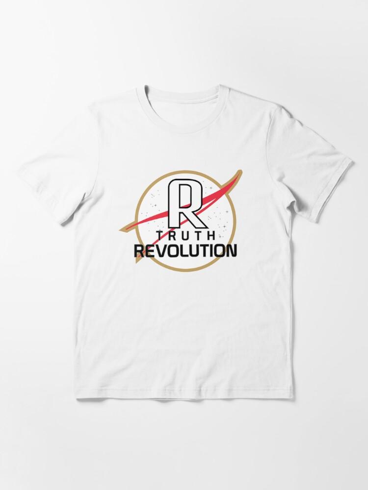 T-shirt essentiel ''Truth Revolution Space Agency Logo 1': autre vue