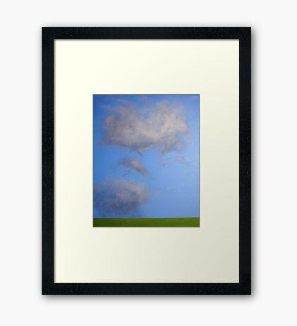 Cloud study Framed Print