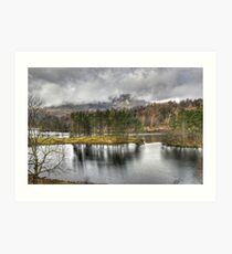 A Day In The Lakes....Tarn Hows Art Print