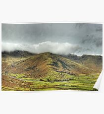 A Day In The Lakes....Langdale Valley Poster