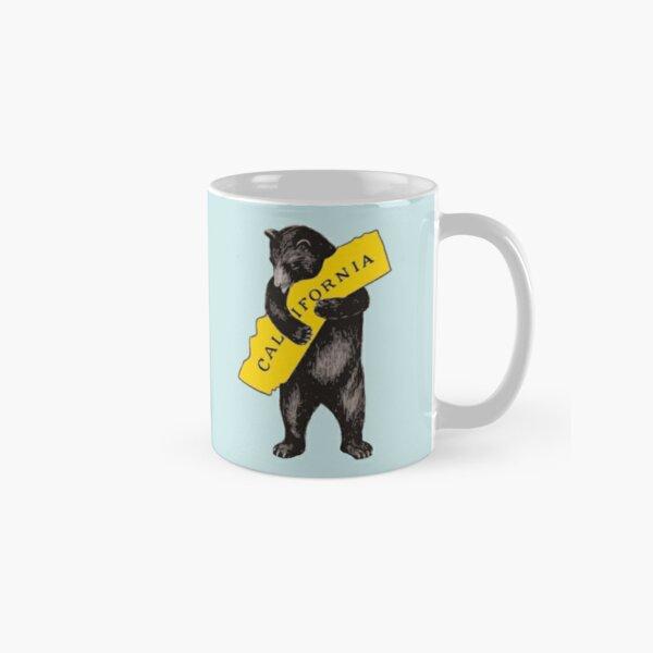 Vintage California Bear Hug Illustration Classic Mug