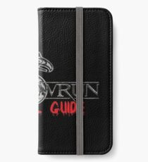 Shadowrun Survival Guide iPhone Wallet/Case/Skin