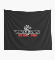 Shadowrun Survival Guide Wall Tapestry