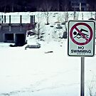 No Swimming by Luke Prudence