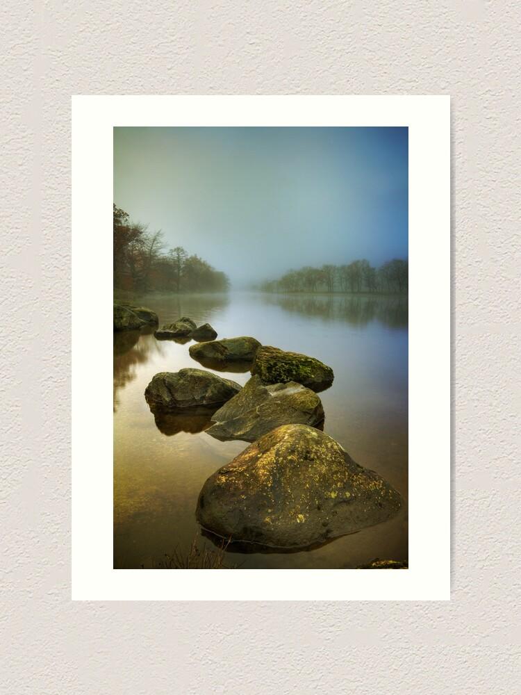Alternate view of Lubnaig Mist (2) Art Print