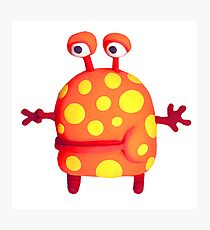 polka dot monster Photographic Print