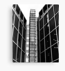 Highrise walking (35mm) Canvas Print