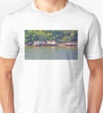 Boat Graveyard - Finistere Brittany France Unisex T-Shirt