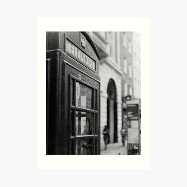 London Calling (35mm) Art Print