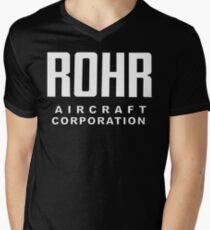 Rohr Aircraft Corporation  Men's V-Neck T-Shirt