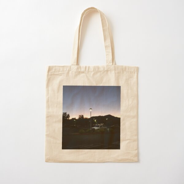 Dawn out west Cotton Tote Bag