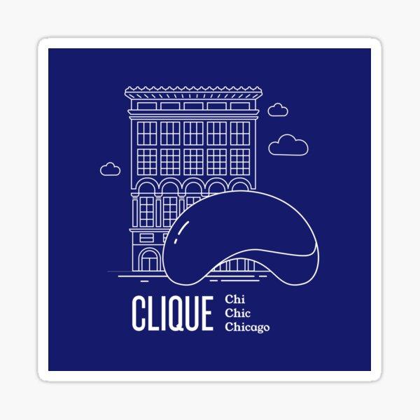CLIQUE Chicago Sticker