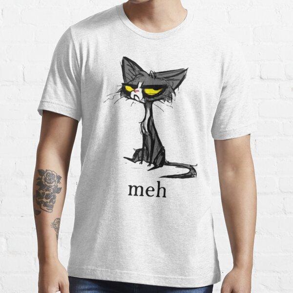 Siamese Cat Meh Essential T-Shirt
