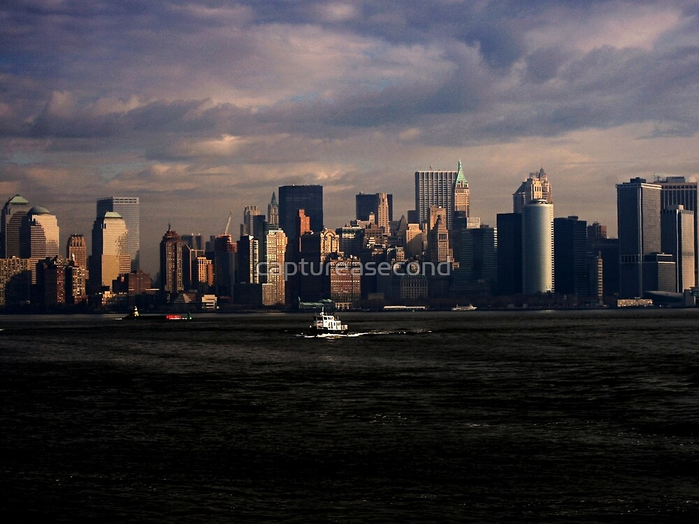New York Skyline by captureasecond