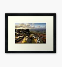 Baslow Edge Derbyshire Framed Print