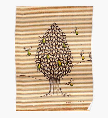 Wings on Pears Tree (Sold on Ebay) Poster