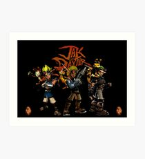 Jak and Daxter Art Print