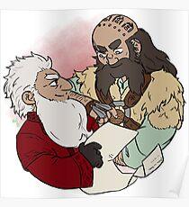 Balin and Dwalin Poster