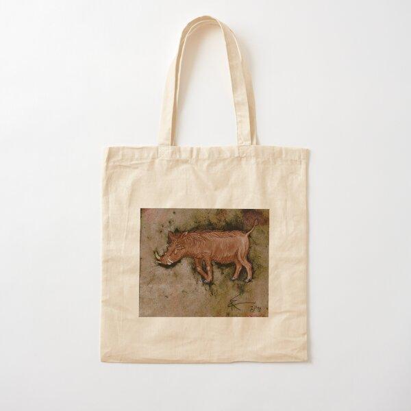 Warthog Cotton Tote Bag