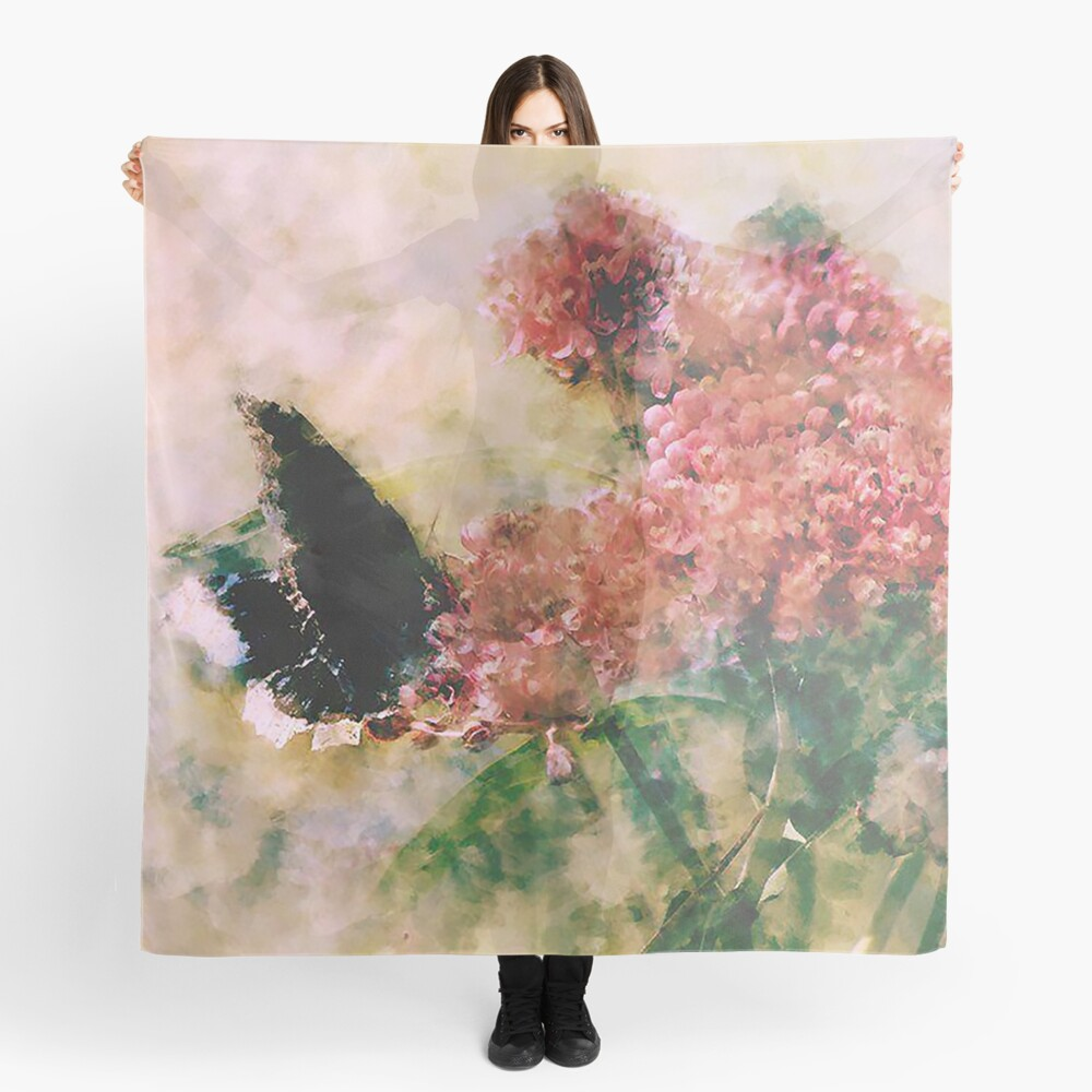 The Mourning Butterfly  Scarf