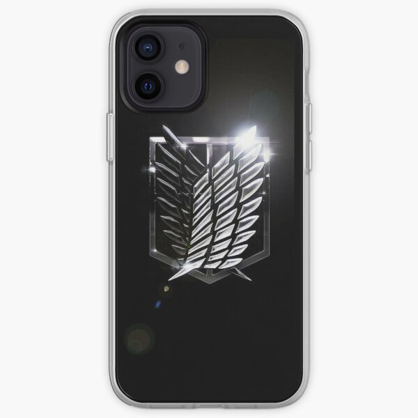 Attack on Titan - Survey Corps Shine Logo iPhone Soft Case