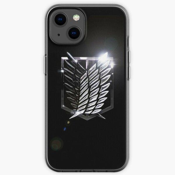 Attack on Titan - Survey Corps Shine Logo iPhone Soft Case