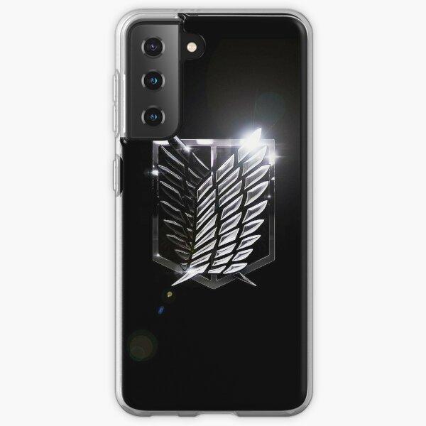 Attack on Titan - Survey Corps Shine Logo Samsung Galaxy Soft Case