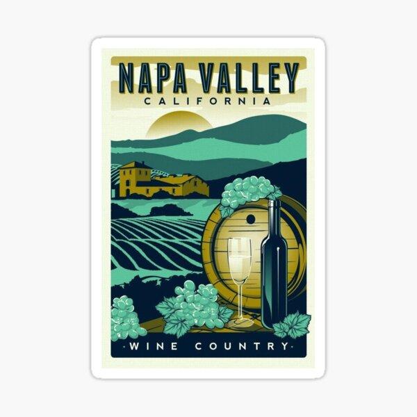 Vintage Napa Valley  Sticker
