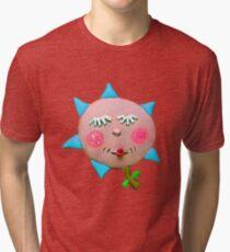 silly flowerguy Tri-blend T-Shirt