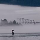 gorge mist 3 by Bruce  Dickson