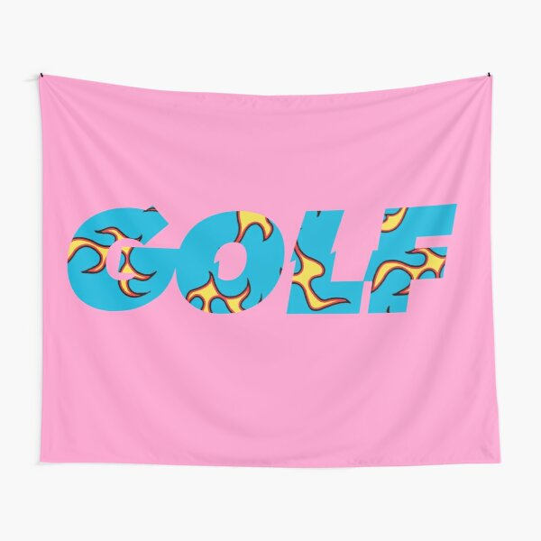 Igor Font Golf Logo Tapestry