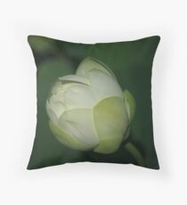 Touch of Green Throw Pillow