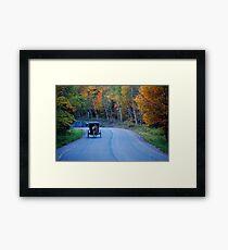 Country Roads... Take me Home... Framed Print