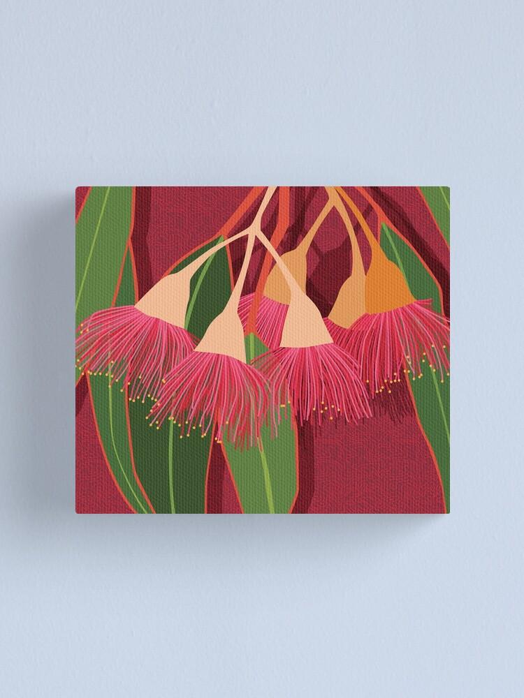 Alternate view of Pink Flowering Gum Canvas Print