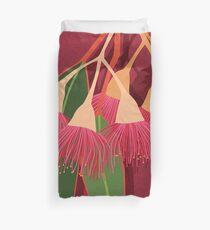 Pink Flowering Gum Duvet Cover