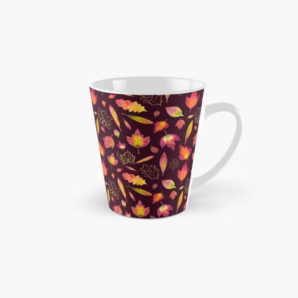 Golden autumn: leaf pattern Tall Mug