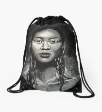 Sauna Girl Drawstring Bag