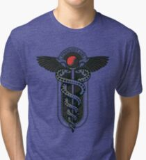 Snakes on a Cane Tri-blend T-Shirt