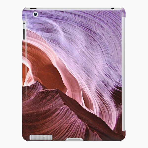 Abstract Lavender Swirl iPad Snap Case