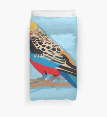 Rosella Bird Duvet Cover