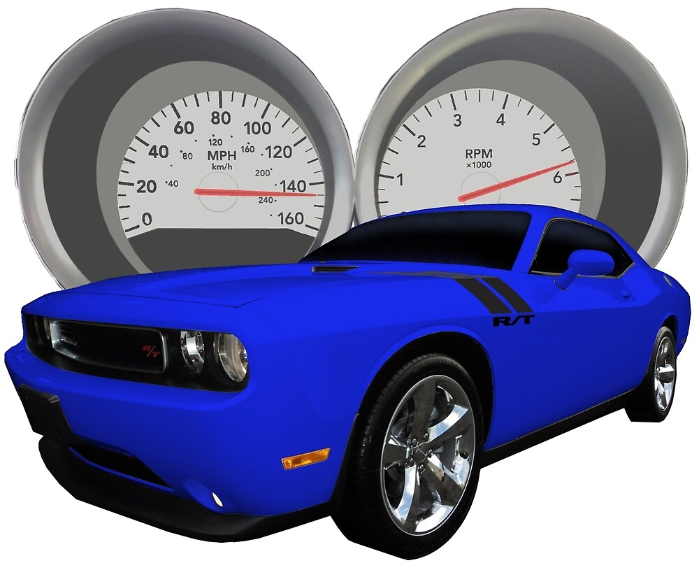 Challenger With Dash Cluster as Background by flyoff