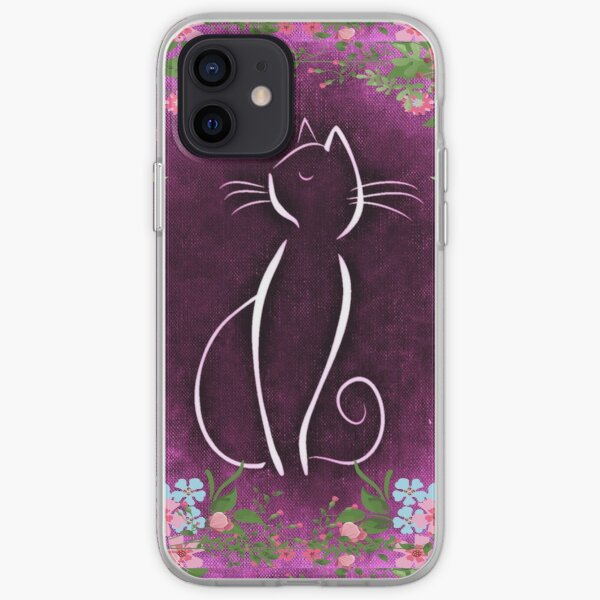 Vintage Cats1 Art & Gifts - Available in a variety of colors and prints, home décor, apparel, clocks, and such iPhone Soft Case