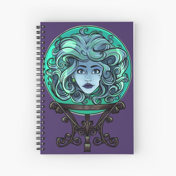 Madame Leota, no background Spiral Notebook