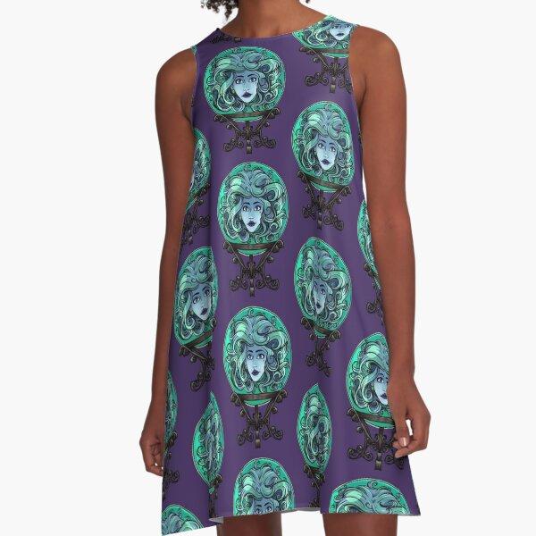 Madame Leota, no background A-Line Dress